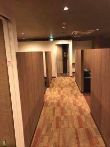 阿波座スポーツメディカルビル シェアオフィス完成間近